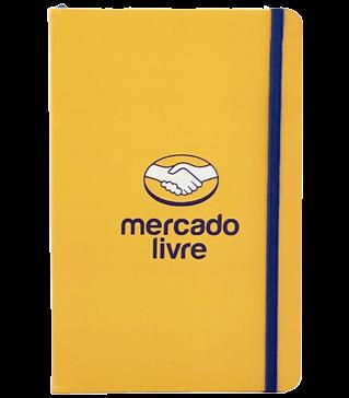 caderneta amarela Mercado Livro