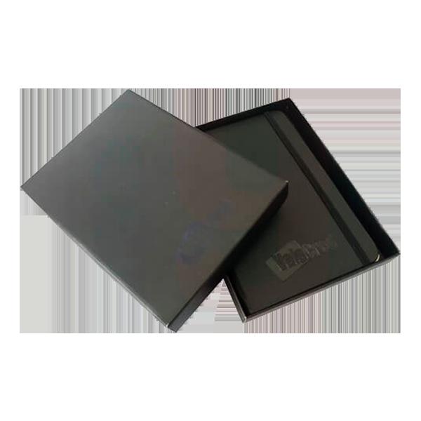 Kit caderneta com caixa